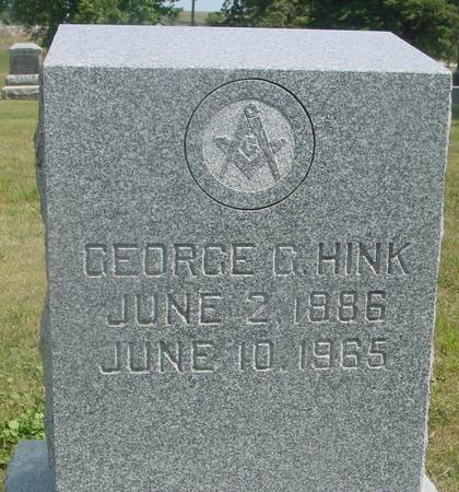 HINK, GEORGE G. - Ida County, Iowa | GEORGE G. HINK