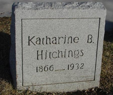 HITCHINGS, KATHARINE B. - Ida County, Iowa | KATHARINE B. HITCHINGS