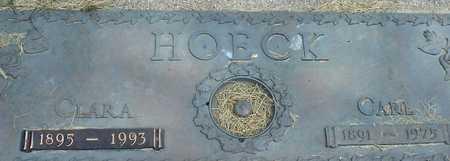 HOECK, CARL & CLARA - Ida County, Iowa | CARL & CLARA HOECK