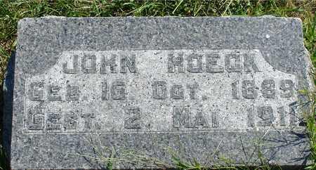 HOECK, JOHN - Ida County, Iowa | JOHN HOECK
