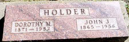 HOLDER, JOHN & DOROTHY - Ida County, Iowa | JOHN & DOROTHY HOLDER