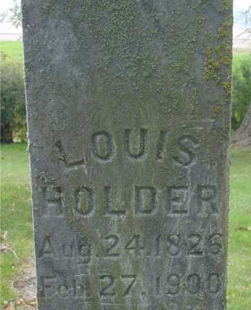 HOLDER, LOUIS - Ida County, Iowa | LOUIS HOLDER
