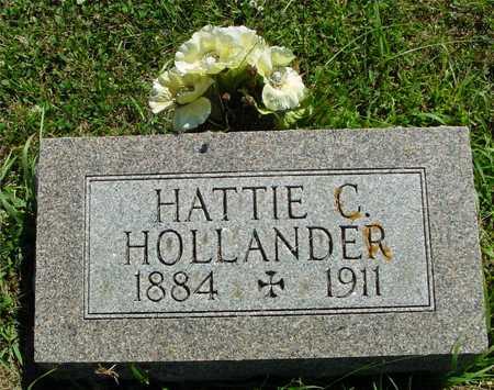 HOLLANDER, HATTIE C. - Ida County, Iowa   HATTIE C. HOLLANDER