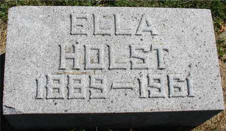 HOLST, ELLA - Ida County, Iowa | ELLA HOLST