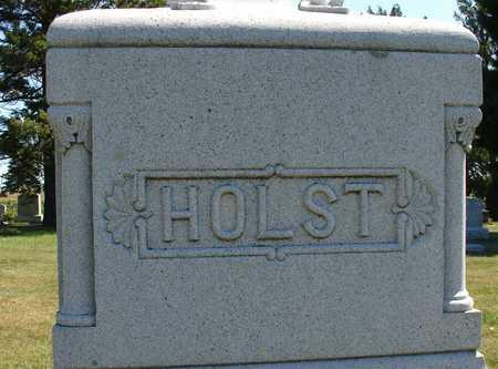 HOLST, FAMILY MARKER - Ida County, Iowa | FAMILY MARKER HOLST