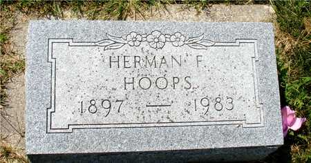 HOOPS, HERMAN F. - Ida County, Iowa | HERMAN F. HOOPS