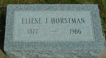 HORSTMAN, ELIESE J. - Ida County, Iowa | ELIESE J. HORSTMAN