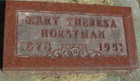 HORSTMAN, MARY THERESA - Ida County, Iowa | MARY THERESA HORSTMAN