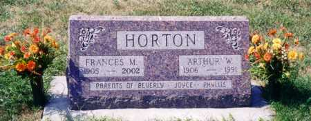 HORTON, FRANCES M. - Ida County, Iowa | FRANCES M. HORTON