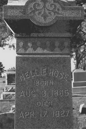 HOSE, NELLIE - Ida County, Iowa | NELLIE HOSE