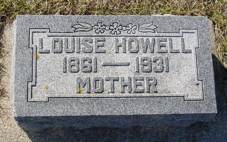 HOWELL, LOUISE - Ida County, Iowa | LOUISE HOWELL