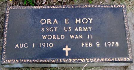 HOY, ORA - Ida County, Iowa | ORA HOY