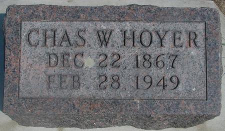 HOYER, CHARLES - Ida County, Iowa | CHARLES HOYER