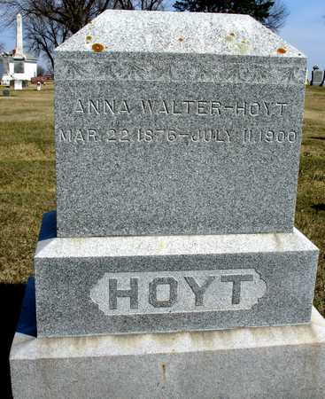HOYT, ANNA - Ida County, Iowa | ANNA HOYT