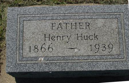 HUCK, HENRY - Ida County, Iowa | HENRY HUCK