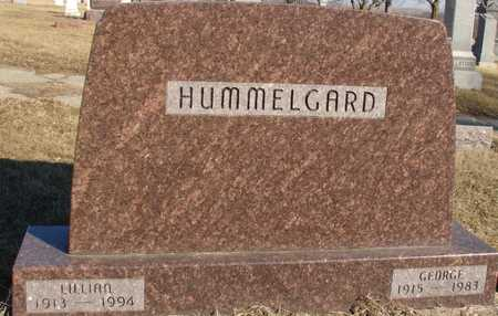 HUMMELGARD, GEORGE & LILLIAN - Ida County, Iowa | GEORGE & LILLIAN HUMMELGARD