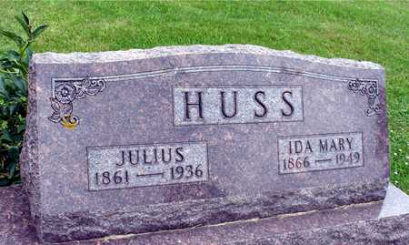 HUSS, JULIUS & IDA MARY - Ida County, Iowa | JULIUS & IDA MARY HUSS