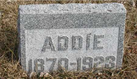 HUTCHINS, ADDIE - Ida County, Iowa | ADDIE HUTCHINS