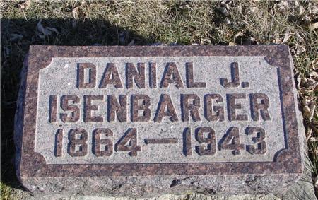 ISENBARGER, DANIAL J. - Ida County, Iowa | DANIAL J. ISENBARGER