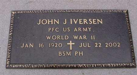 IVERSEN, JOHN J. - Ida County, Iowa | JOHN J. IVERSEN