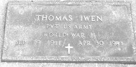 IWEN, THOMAS - Ida County, Iowa | THOMAS IWEN