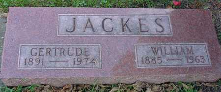 JACKES, WILLIAM & GERTRUDE - Ida County, Iowa | WILLIAM & GERTRUDE JACKES