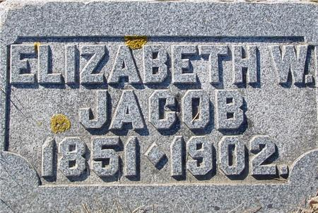 JACOB, ELIZABETH W. - Ida County, Iowa | ELIZABETH W. JACOB
