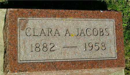 JACOBS, CLARA A. - Ida County, Iowa | CLARA A. JACOBS