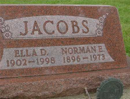 JACOBS, NORMAN & ELLA D. - Ida County, Iowa | NORMAN & ELLA D. JACOBS
