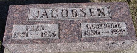 JACOBSEN, FRED & GERTRUDE - Ida County, Iowa | FRED & GERTRUDE JACOBSEN