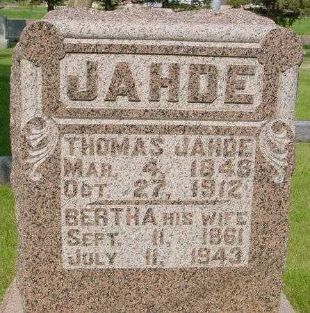 JAHDE, THOMAS - Ida County, Iowa | THOMAS JAHDE