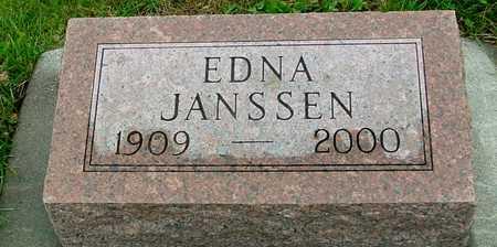JANSSEN, EDNA - Ida County, Iowa | EDNA JANSSEN