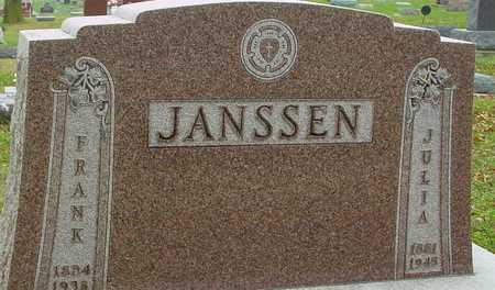 JANSSEN, FRANK & JULIA - Ida County, Iowa | FRANK & JULIA JANSSEN