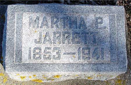 JARRETT, MARTHA P. - Ida County, Iowa | MARTHA P. JARRETT