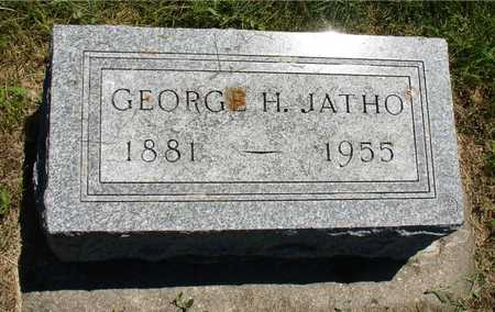 JATHO, GEORGE H. - Ida County, Iowa | GEORGE H. JATHO