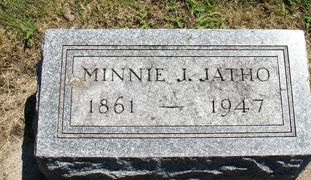 JATHO, MINNIE J. - Ida County, Iowa | MINNIE J. JATHO