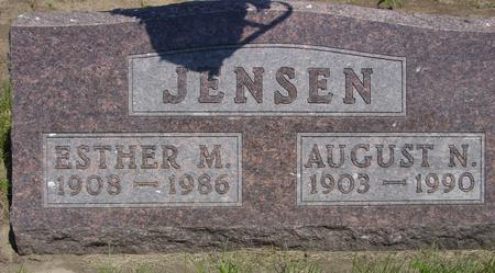 JENSEN, AUGUST - Ida County, Iowa | AUGUST JENSEN