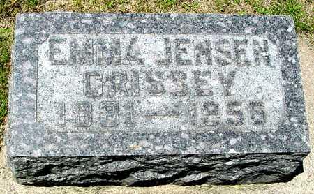 CRISSEY JENSEN, EMMA - Ida County, Iowa | EMMA CRISSEY JENSEN