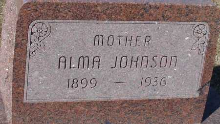 JOHNSON, ALMA - Ida County, Iowa | ALMA JOHNSON