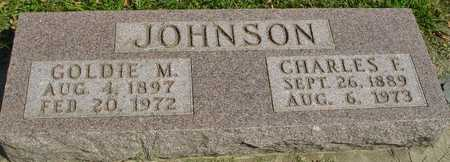 JOHNSON, CHARLES F. & GOLDIE - Ida County, Iowa | CHARLES F. & GOLDIE JOHNSON