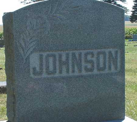 JOHNSON, FAMILY MARKER - Ida County, Iowa | FAMILY MARKER JOHNSON