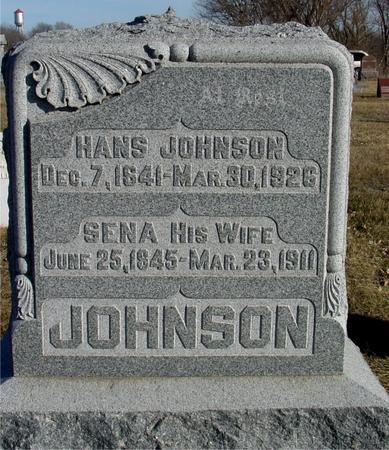 JOHNSON, HANS & SENA - Ida County, Iowa | HANS & SENA JOHNSON