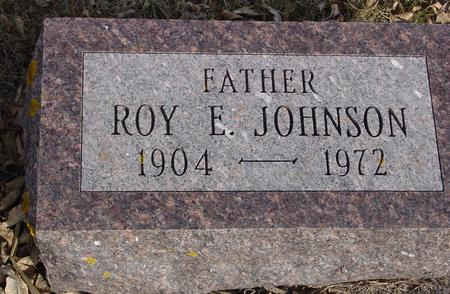 JOHNSON, ROY E. - Ida County, Iowa | ROY E. JOHNSON
