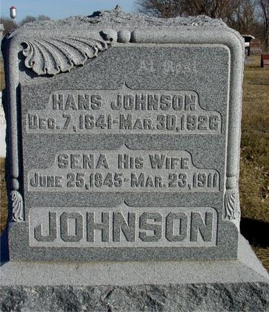 JOHNSON, SENA - Ida County, Iowa | SENA JOHNSON