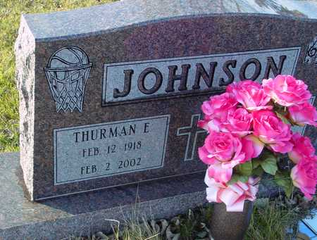 JOHNSON, THURMAN E. - Ida County, Iowa | THURMAN E. JOHNSON