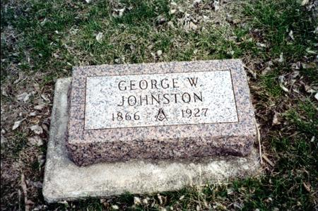 JOHNSTON, GEORGE W. - Ida County, Iowa | GEORGE W. JOHNSTON