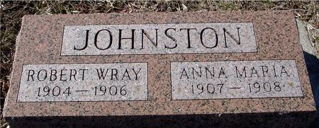 JOHNSTON, ROBERT W. & ANNA - Ida County, Iowa | ROBERT W. & ANNA JOHNSTON