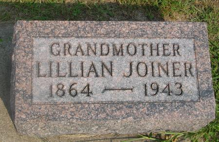 JOINER, LILLIAN - Ida County, Iowa | LILLIAN JOINER