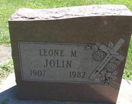 JOLIN, LEONE M. - Ida County, Iowa | LEONE M. JOLIN