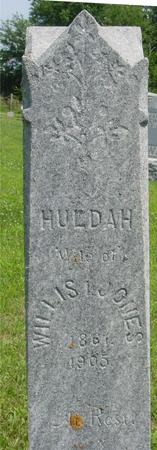 JONES, HULDAH - Ida County, Iowa | HULDAH JONES